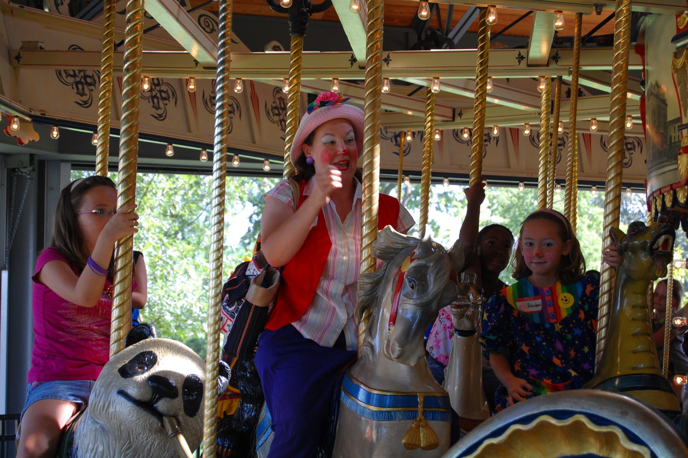 Clowns At The Carousel 2010 (021)