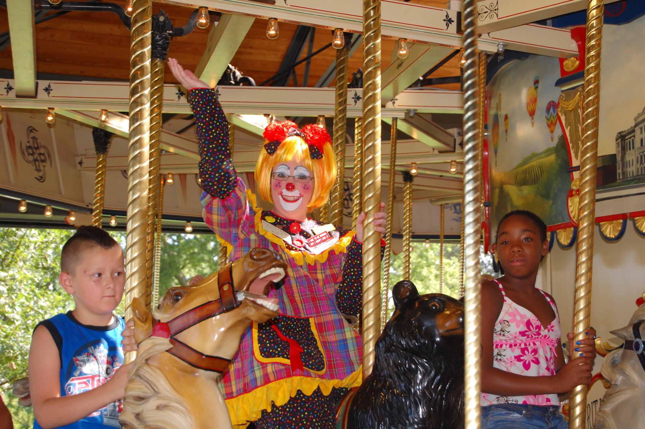 Clowns At The Carousel 2010 (022)
