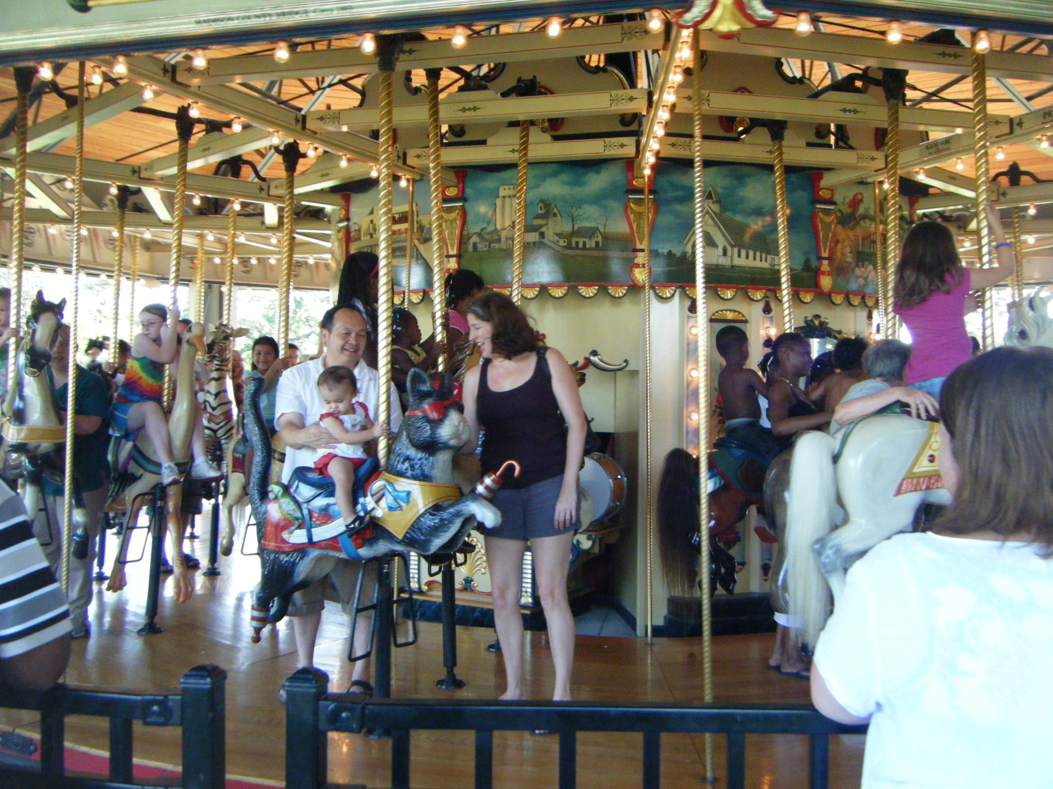 Clowns At The Carousel 2010 (140)